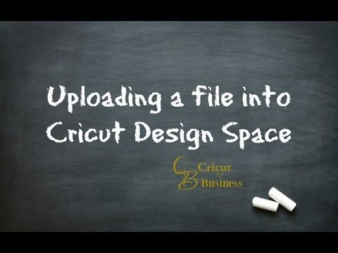 """A question was asked about """"How to Upload files from our group into Design Space"""" Well our files are usually SVGs and this video should explain the process p..."""
