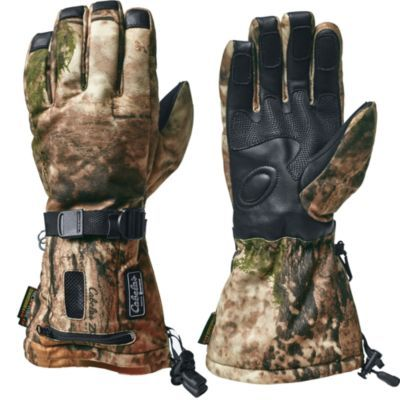 Cabela's Women's Heated Performance Camo Gloves #ColdWeatherGear