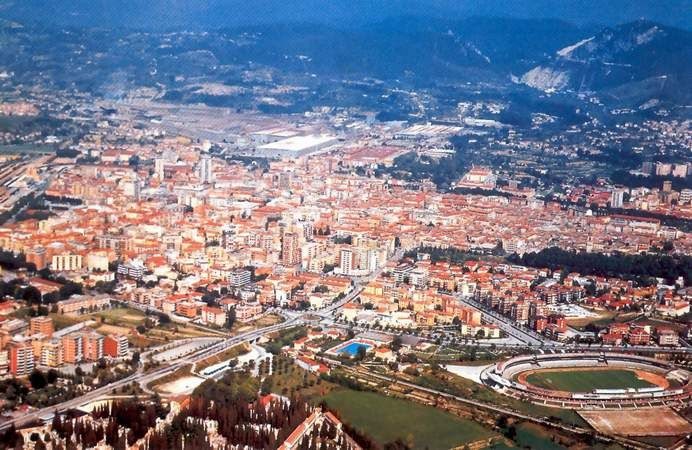 Terni... spent 6 months of my mission here.  Miss it!!