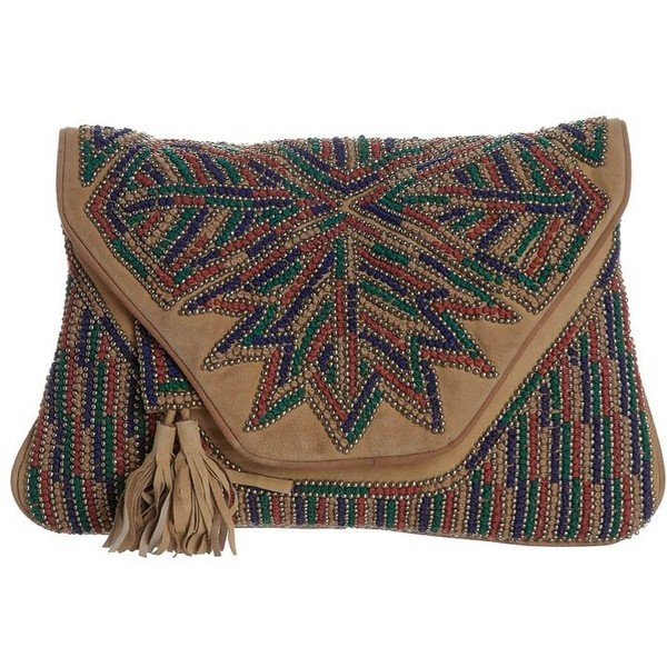 Antik Batik CANADA Clutch ($265) ❤ liked on Polyvore