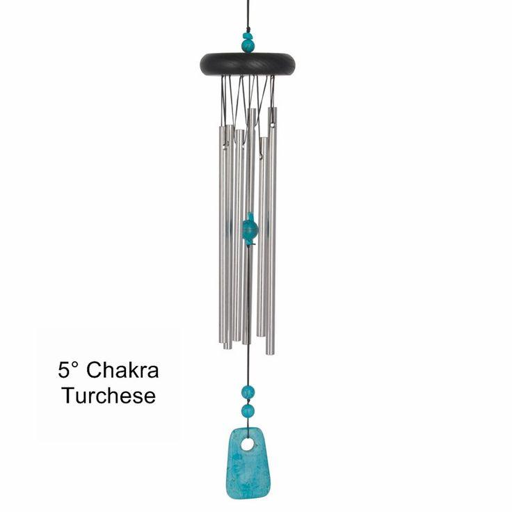 Campana a vento 5° chakra: Turchese