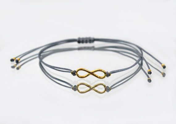 NEW  Beautiful INFINITY bracelet silver plated by euforioHandmade