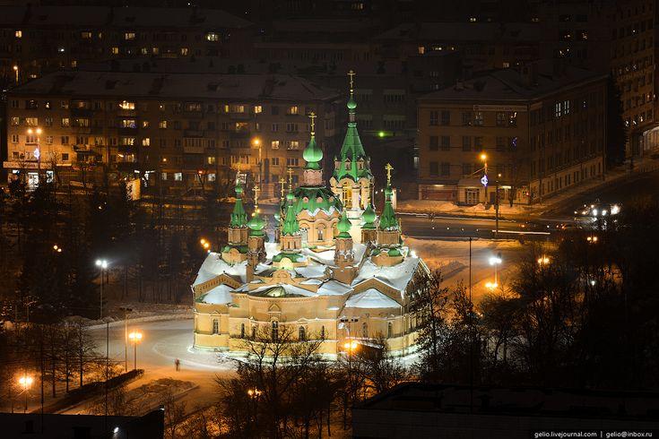 Зимний Челябинск | Храм Александра Невского