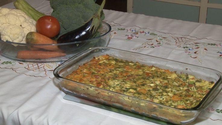 Torta salgada de hortaliças  E SOJA - Programa Rio Grande Rural