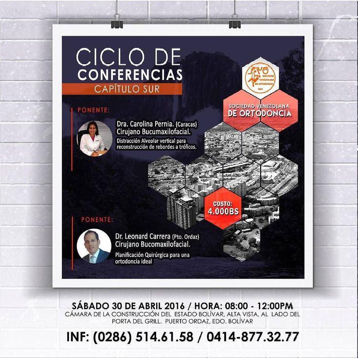 Ciclo de conferencias sociedad venezolana de ortodoncia capitulo sur. #ortodoncistas #ortho #orthodontic #cirugia #maxilofacial #oralsurgery #surgery #educacioncontinua #actualizacion #conferencia #sociedadvenezolanadeortodonciacapitulosur #odontologos #odonto #dentistas #puertoordaz by svo_capitulosur Our Oral Surgery Page: http://www.myimagedental.com/services/oral-surgery/ Google My Business: https://plus.google.com/ImageDentalStockton/about Our Yelp Page: bit.ly/1KZUPer Our Facebook…
