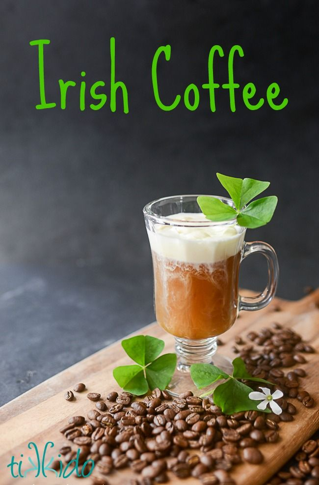 Are you ready for St. Patrick's Day? Maybe a nice cup of Irish Coffee is just what you need to get in the mood. #stpatricksday #irishcoffee