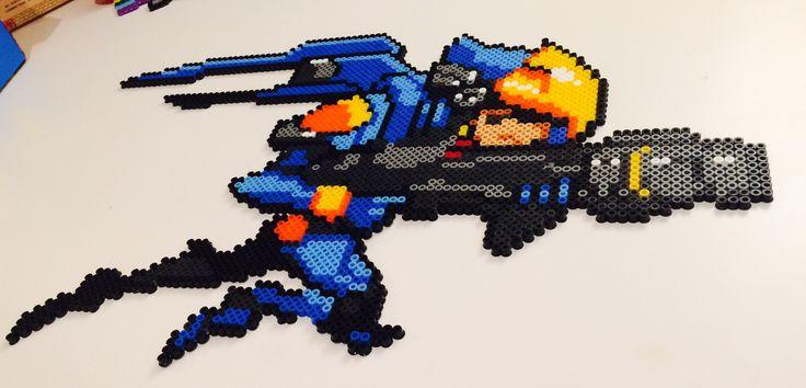 Pharah pixel art