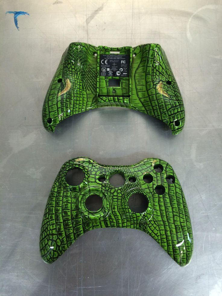 manette xbox 360 motif croco gaming custom pinterest. Black Bedroom Furniture Sets. Home Design Ideas