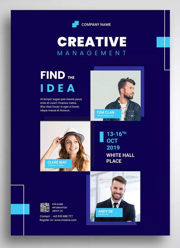 Seminar Flyer Promo Template By Uicreativenet On Brosur Desain