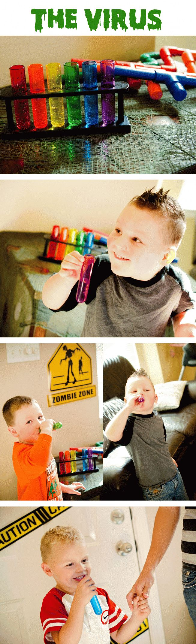 Cool #zombie birthday party ideas