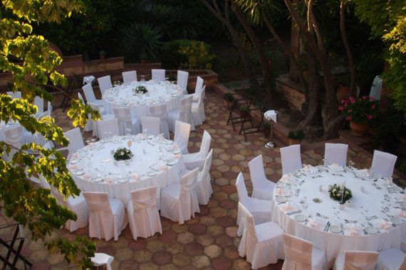 Garden wedding in Argentikon Luxury Suites, Chios Greece