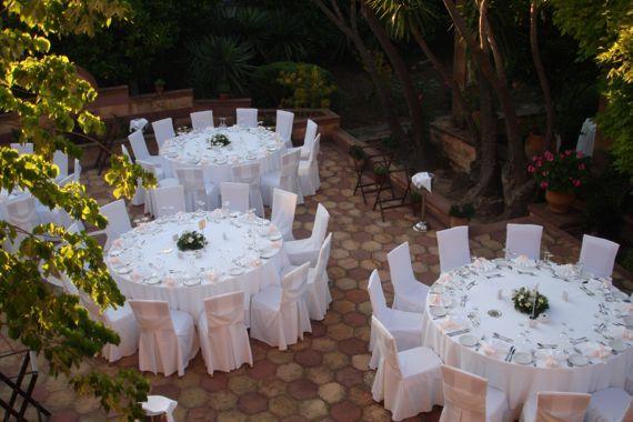 Garden wedding in Argentikon Luxury Suites, Chios Greece