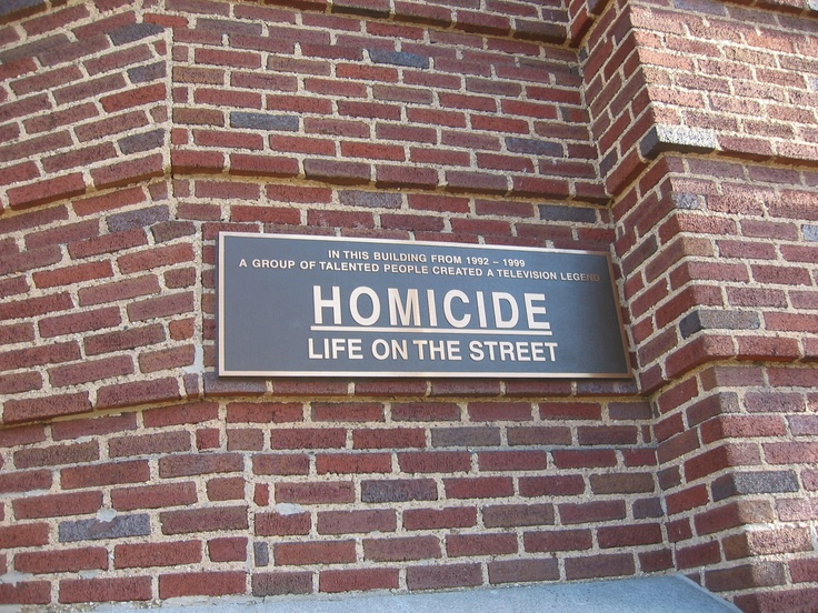 """""""Homicide, Life on the Streets"""" was based in BaltimoreFell Point"""