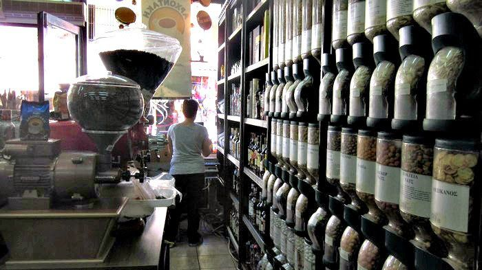 Delicious food tour in Chania, Crete! This is one of the best coffee shops in town! | Greece