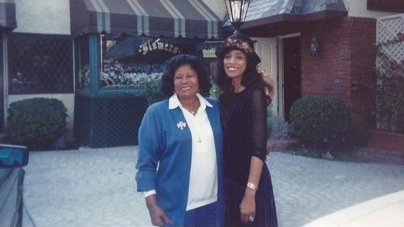 Katherine Jackson & Brenda Richie.