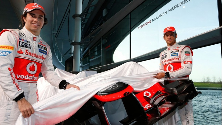 F1 Vodafone McLaren Mercedes Launch MP428 (PHOTOS