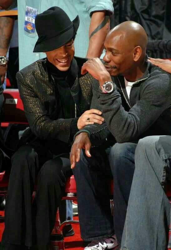 Prince & David Chappelle