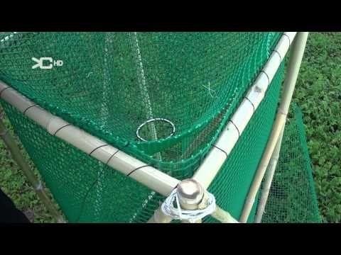 Fabricación Jáula trampa para Peces 2 - YouTube