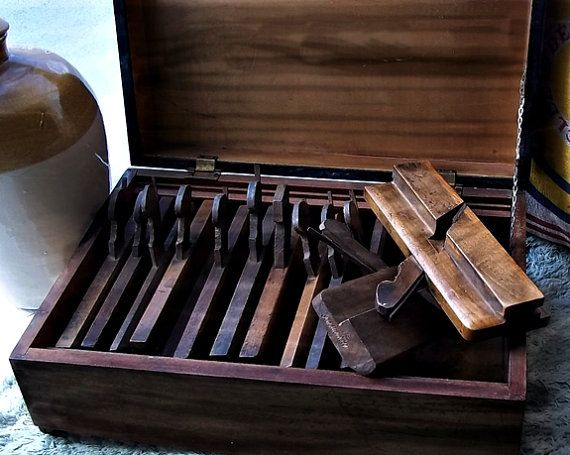 Antique Scottish Wooden Plane Tool No 1 by thevintagearcade, $40.00