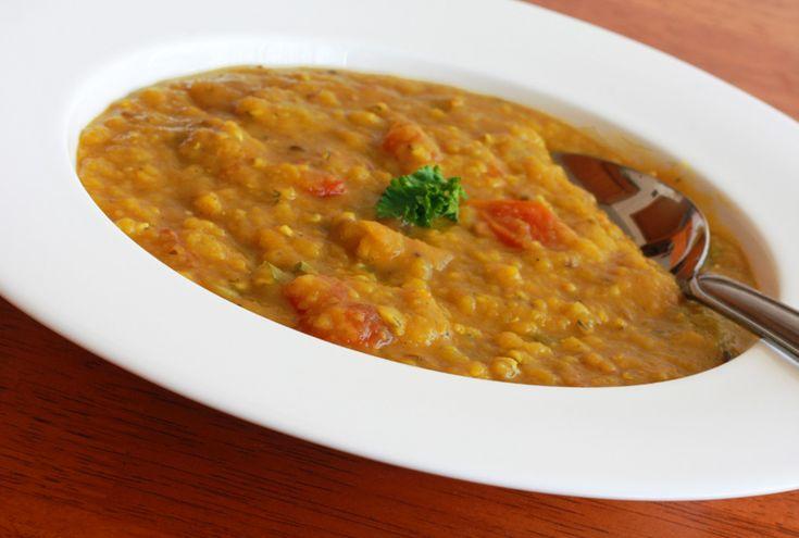 Lentejas al estilo indio; deliciosas!