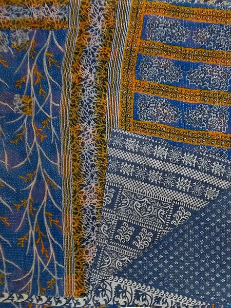 Isis Kantha Quilt, as seen in the Fall 12 issue of VIVmag http://www.zinio.com/pages/VIVmag/FALL2012/416238323/pg-106
