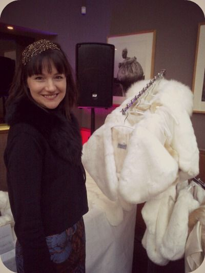 Elizabeth Rose from Blanche in the Brambles. Bridal Faux Fur Shrugs, Stoles and Jackets