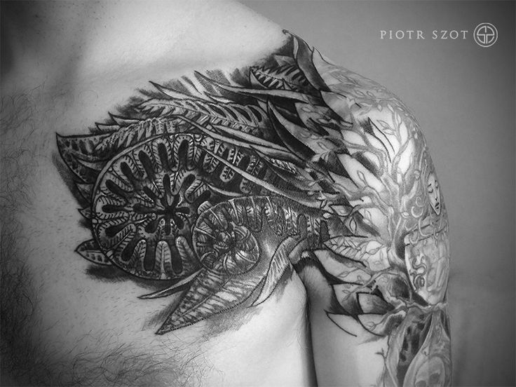 tattoo made by Piotr Szot