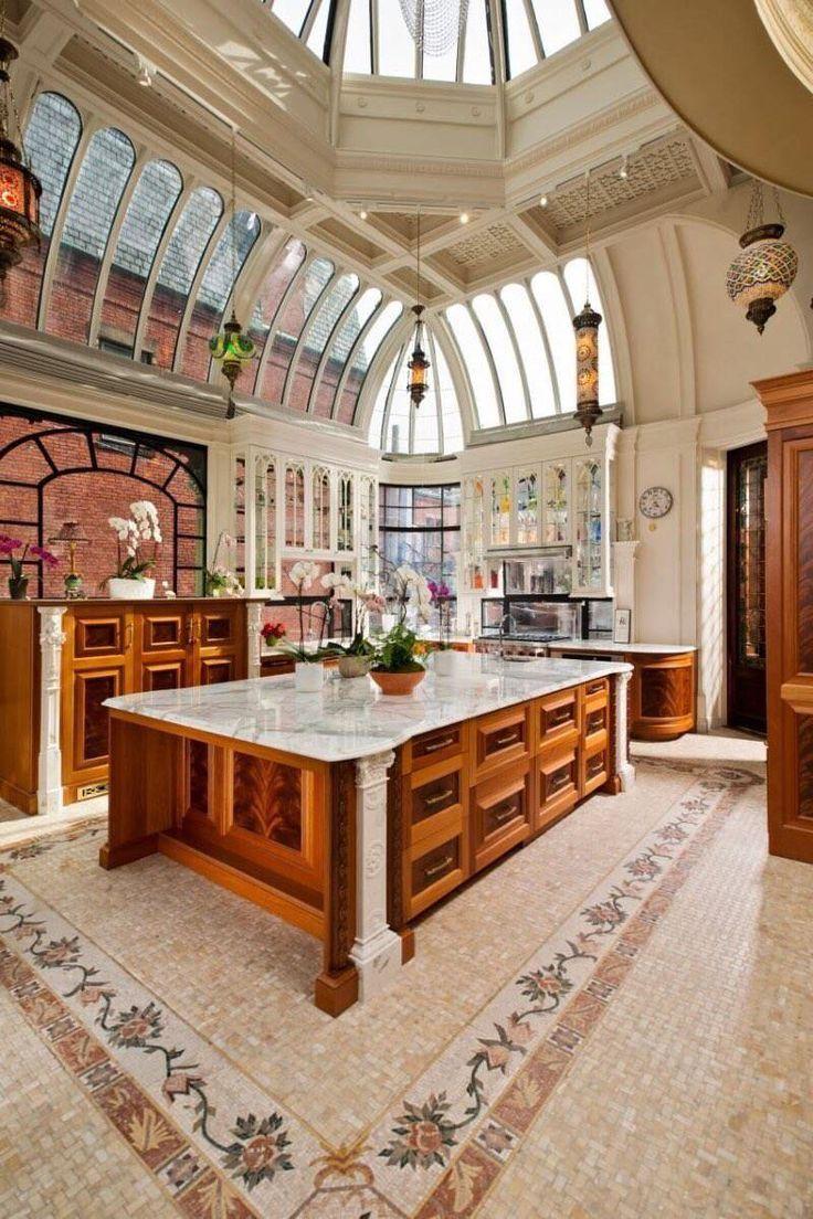 Conservatory Kitchen, downtown Boston [1200x1800]