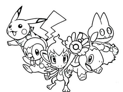 92 Best Pokemon Coloring Pages Images On Pinterest