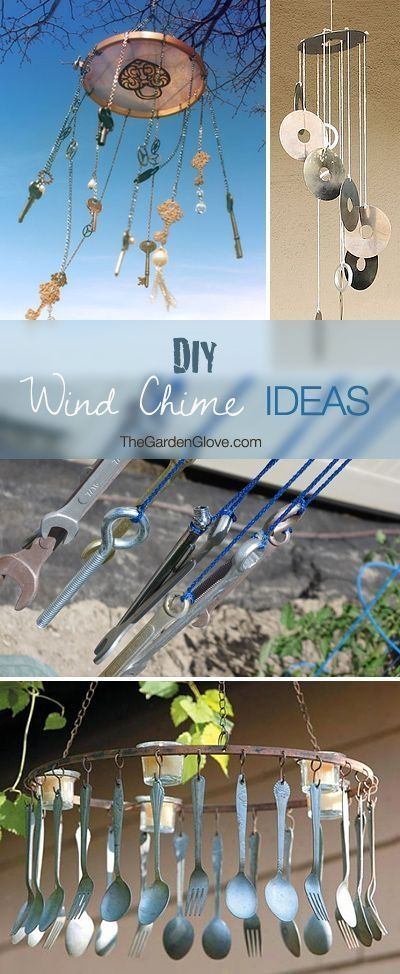 62 best wind chimes images on pinterest wind chimes for Wind chime design ideas