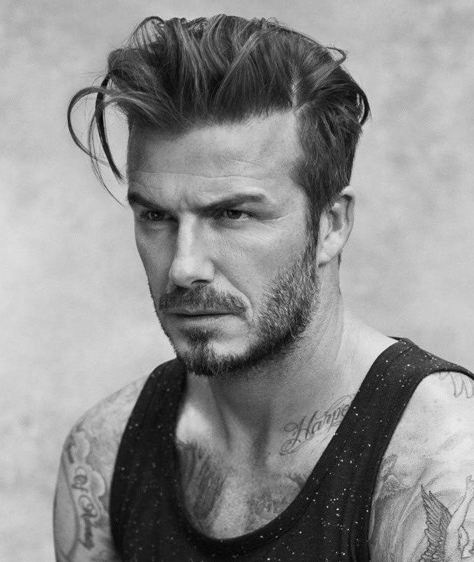 David Beckham Frisur Quiff Ronnie David Beckham Frisuren