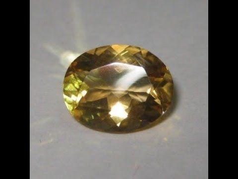 Batu Permata Citrine Asli dan Berkualitas, berat 2.06 carat