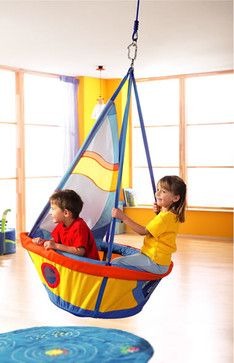HABA Ships See Saw Swing - kids decor - other metro - HABA USA
