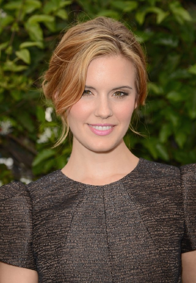 Maggie Grace - love the hair color!