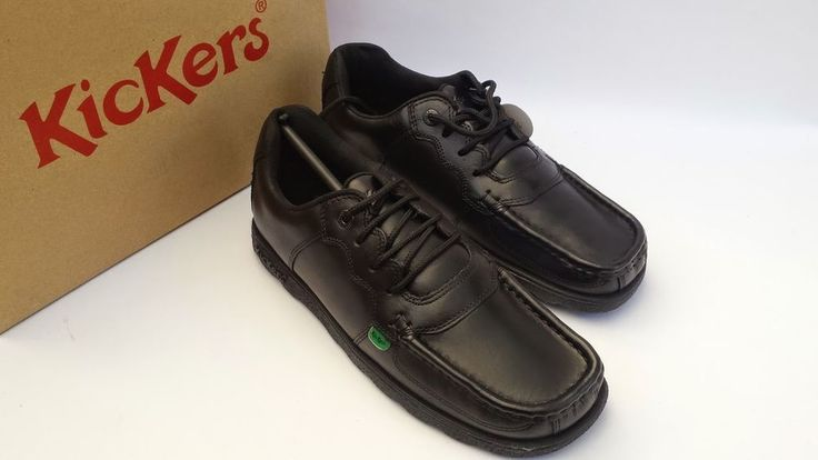 Kickers Fragma Lace AM Mens Leather Shoe in Clothes, Shoes & Accessories, Men's Shoes, Formal Shoes | eBay