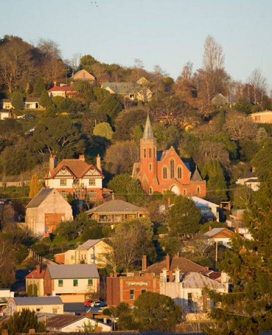 Daylesford, Victoria.  A truly beautiful place to visit