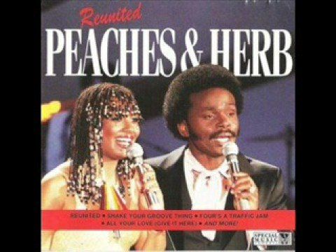 Herb Fame of the singing duo Peaches & Herb turns 72 today - he was born 10-1 in 1942. From 1978 and their No 1 hit here's Peaches & Herb with 'Reunited'