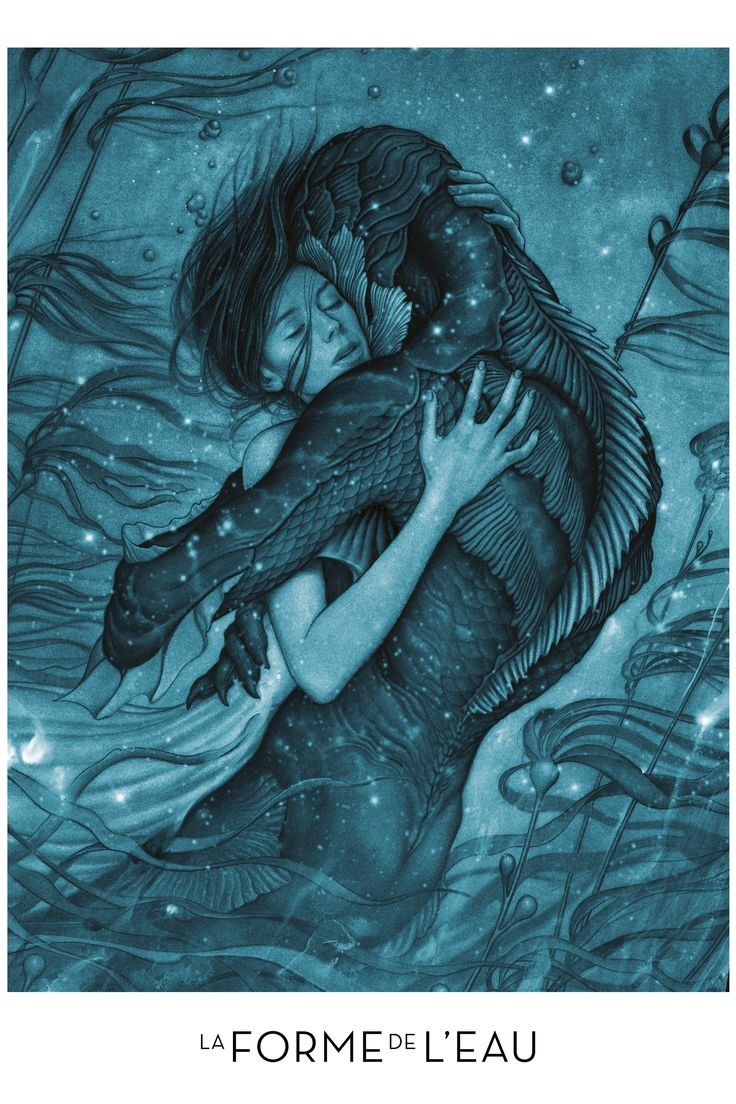 The Shape of Water, monsters need love too!