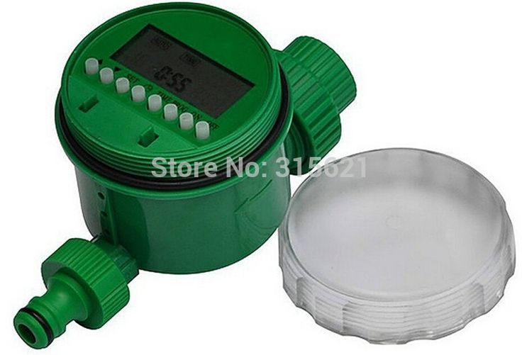 Home Garden LCD Waterproof Automatic Electronic Water Timer Digital Intelligence Irrigation System Controller Irrigation Timer