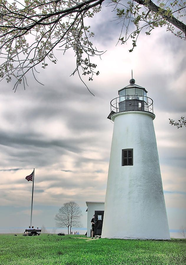 Turkey Point Lighthouse Maryland photography by Mark