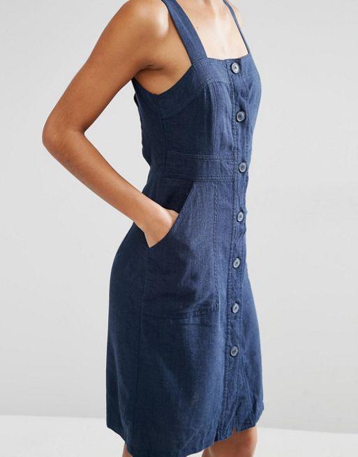 Vestido estilo pichi con botones de vero moda eclipse total mujer,vero moda madrid goya,vero moda tiendas zaragoza,barato