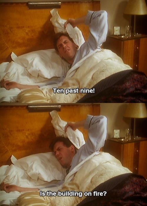 From Jeeves and Wooster. This is how my brother is. :D