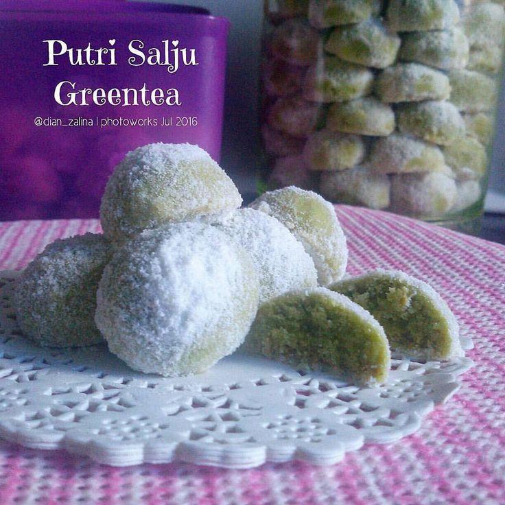 Putri Salju green tea