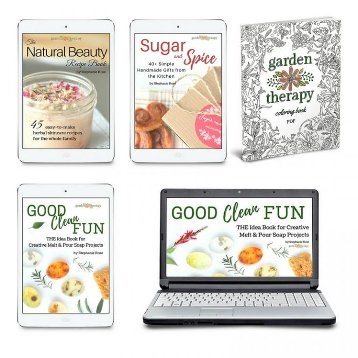 Garden Therapy eBooks