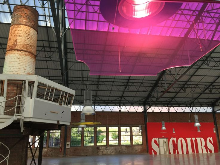 Ayse Erkmen instalation @ La grande Halle, Site verrier de Meisenthal