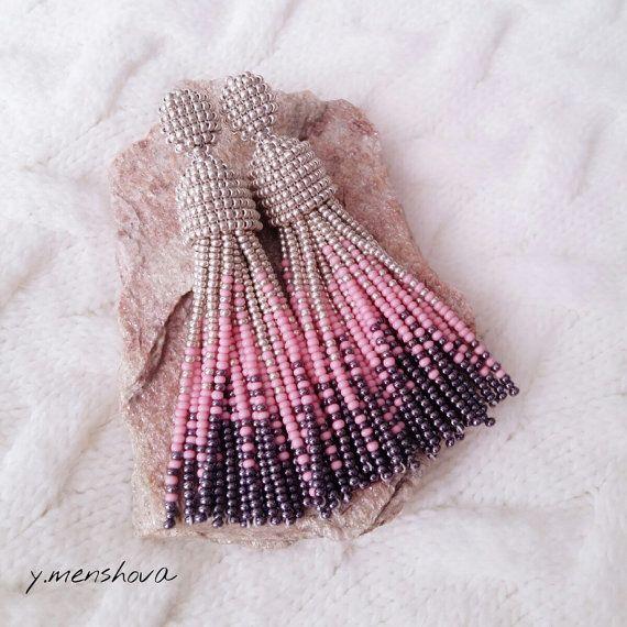 Earrings oscar. Long earrings. Earrings from by JewelryByYulia