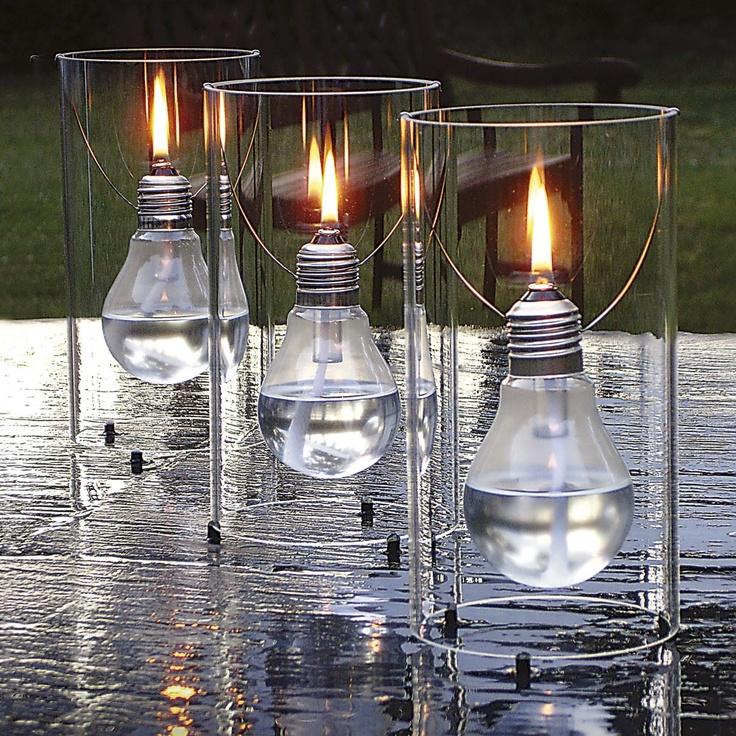 ediSUN Öllampe