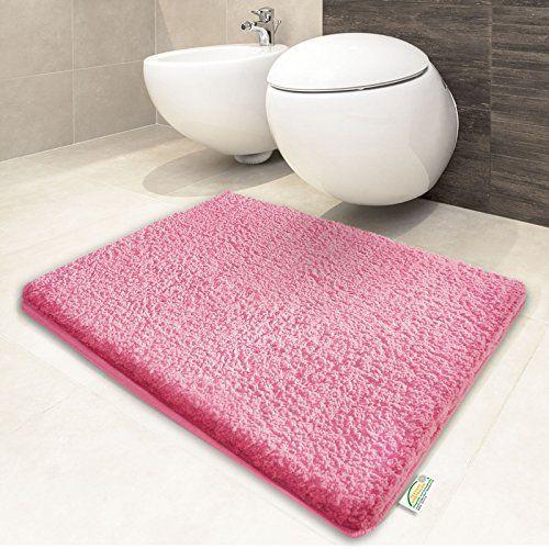 Tapis de bain rose vif | certifié Oeko-Tex 100 et lavable... https://www.amazon.fr/dp/B00N96FXOA/ref=cm_sw_r_pi_dp_x_zFECybZX6H4DN
