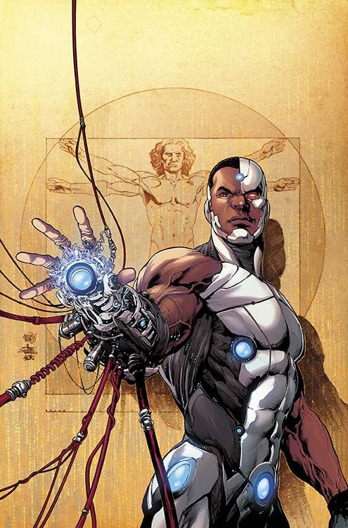 """Images for : David Walker Seeks the Man Inside the Machine in DC's """"Cyborg"""" - Comic Book Resources"""