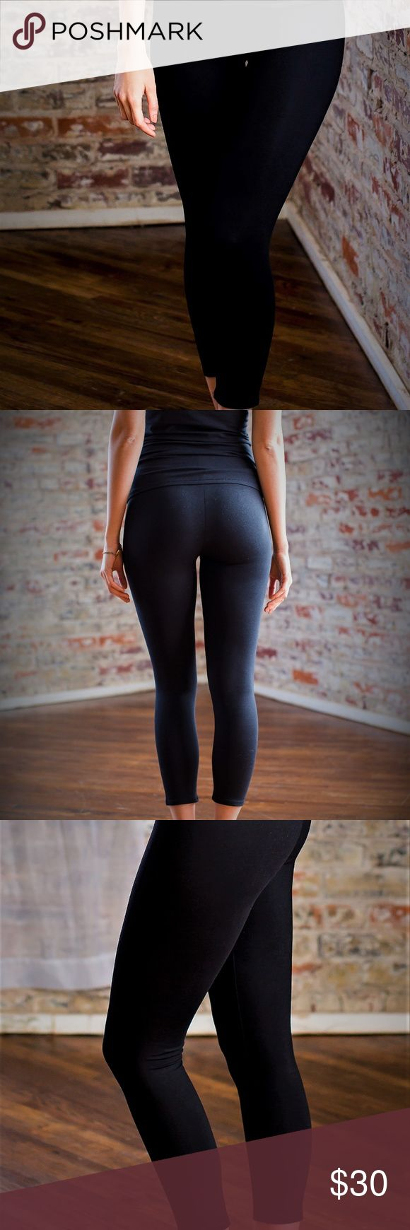 Organic Cotton - Women 3/4 Legging. BRAND NEW! Never see-through. Comfy cozy cotton and just enough stretch for the perfect fit. Comfortable rise that sits at your true waist 92% Organic cotton & 8% Elasthan GOTS Certified Fair Trade Cotton US Seller Orgassm Organic Pants Leggings